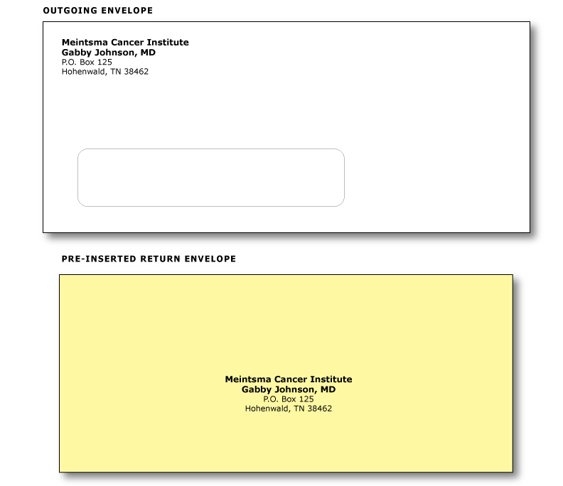 Envelopes: Computer Statement / Invoices, Billing Envelopes ...