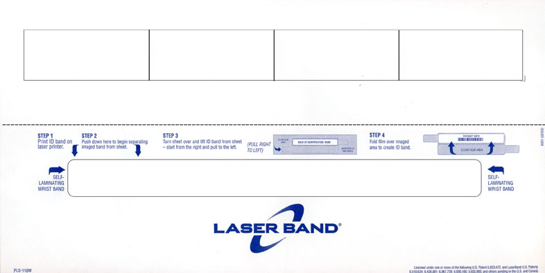 wristband template microsoft word