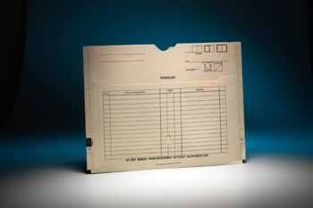 Filing Systems - Stock Imprinted Jackets
