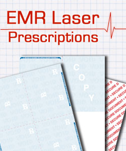 Secure Laser Prescription (RX) paper