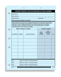 HIPAA-For Accounting of Disclosures